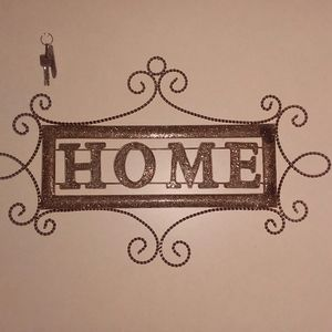 Heavy metal home sign